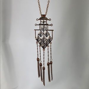 Jewelry - Copper Tassel Necklace